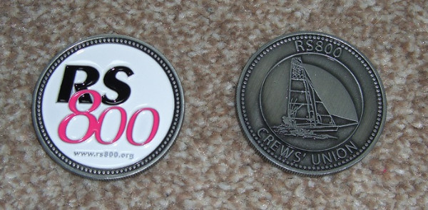 More information on Collect your Crews' Union Challenge Coin at the Dinghy Show