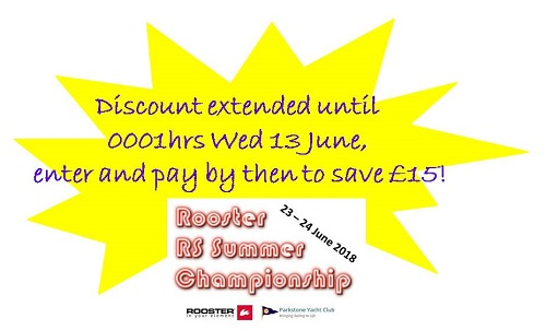 More information on SUMMERS DISCOUNT ENTRY EXTENDED!