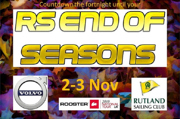 More information on Countdown to your RS End of Seasons Regatta!