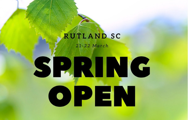 More information on Spring Open 21-22 March