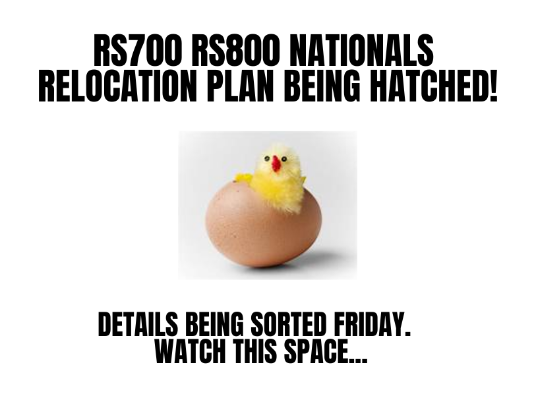 More information on RS700 RS800 Nationals Relocation Plan Being Hatched!