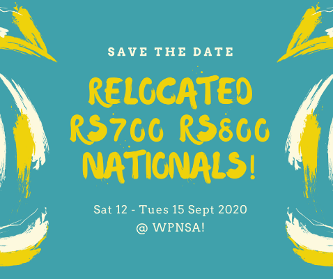 More information on Save The Date: Sat 12 – Tues 15 Sept 20